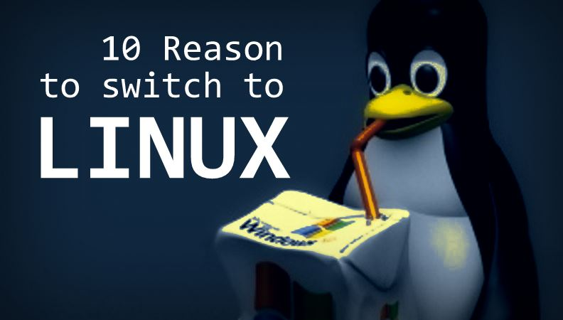 reasons to switch to linux