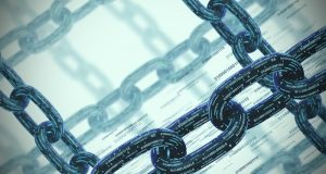 binary chains links data security blockchain by ismagilov gettyimages   large