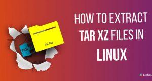 extractz tar file