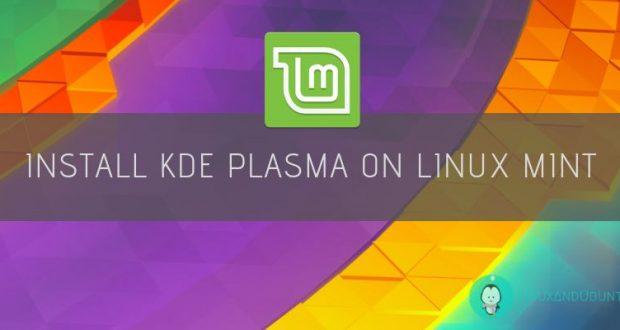 install kde plasma on linux mint orig